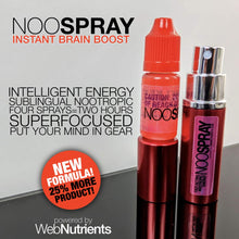 Load image into Gallery viewer, NooSpray -  Fast-Acting Sublingual Spray For Mood, Energy and Focus (30 day supply)