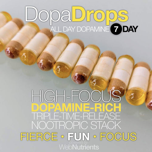 DopaDrops - Dopamine Optimization for Improved Mood, Energy, and Hormones.