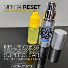 Load image into Gallery viewer, MENTALRESET sublingual spray - Brain Fog Eliminator For Clear Thinking