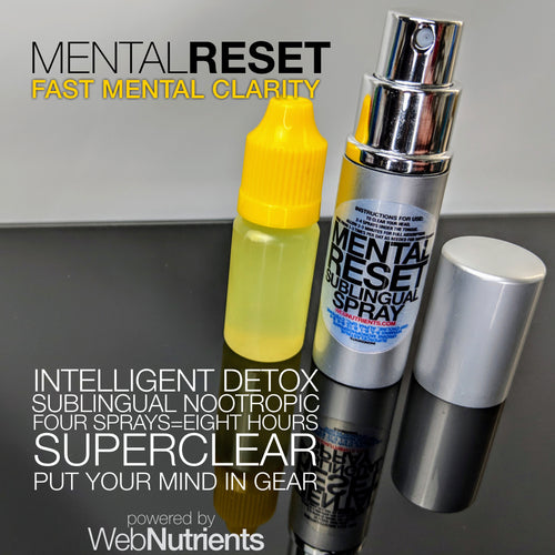 MENTALRESET sublingual spray - Brain Fog Eliminator For Clear Thinking