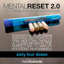 Load image into Gallery viewer, MentalReset 2.0 -  Detox and Cleanse to Improve Mental Clarity, and Neurogenesis.