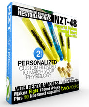 Load image into Gallery viewer, Limitless NZT-48 +Restoramones - Drink Mix and Capsules for Brain Boosting and Hormone Optimization