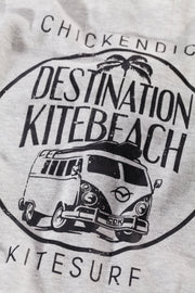 CDK Zipper Kitebeach Destination hellgrau - unisex