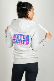 CLK Zipper Kitesurf hellgrau - ladies