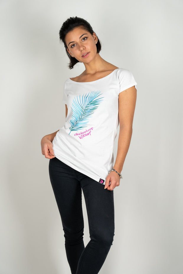 CLK Shirt Palmleaf - ladies