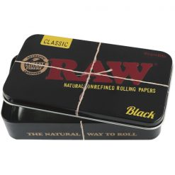 RAW BLACK TIN BOX