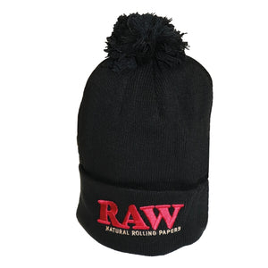 RAW WINTER HAT BLACK