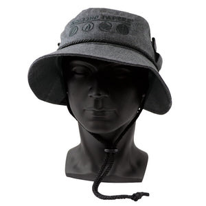 RAW w BUCKET HAT GRIGIO – LARGE /MIDIUM