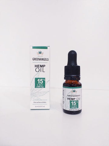 GREENANGELS OlioCBD 15% 10ml.