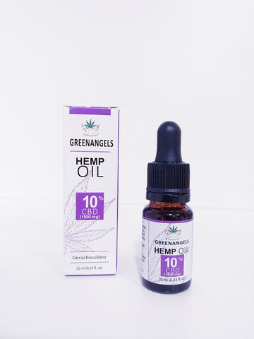 GREENANGELS OlioCBD 10% 10ml.