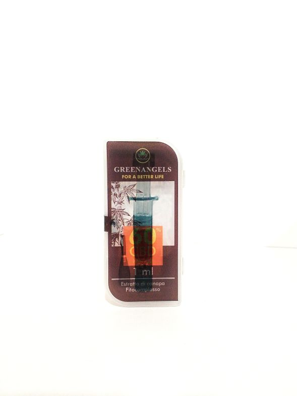 GREENANGELS Resin-Wax CBD 60%  1 ml.