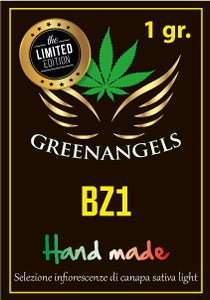 GreenAngels - 1 gr. BZ1 Greenhouse - LIMITED EXCLUSIVE EDITION