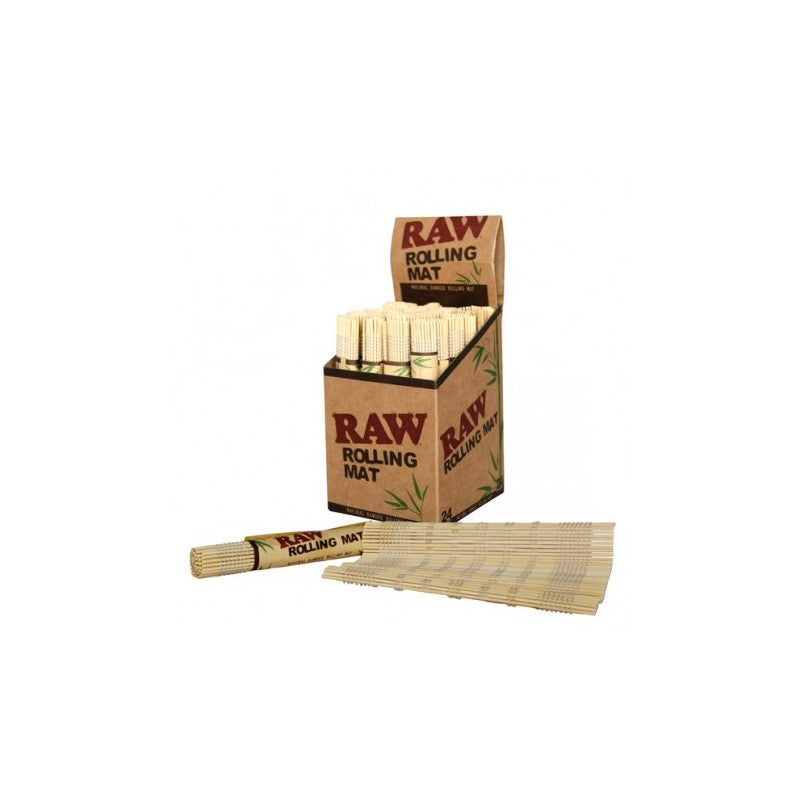 RAW BAMBOO ROLLING MATS