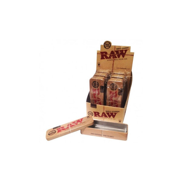 RAW ROLL CADDY - METAL TIN CASES