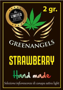 GreenAngels - 2 gr.  Strawberry  Greenhouse - LIMITED EXCLUSIVE EDITION