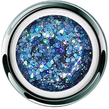 AKZENTZ GEL PLAY - GLITTER CRUSH BLUE
