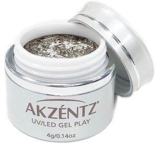 AKZENTZ GEL PLAY - GLITZ PEWTER QUARTZ