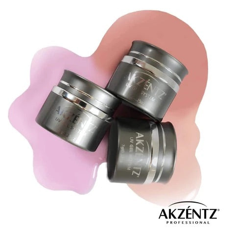 AKZENTZ PRO-FORMANCE HARD GEL - TRINITY SHADES NATURAL