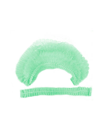 Disposable protective hair caps (MINT) 25pc