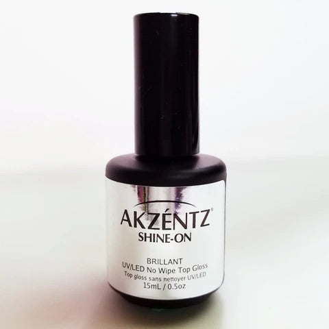 AKZENTZ SHINE-ON (NO CLEANSE) GEL TOP GLOSS