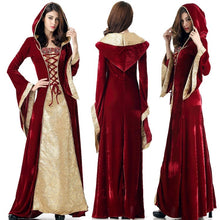 Load image into Gallery viewer, NEW women's Halloween witch costume devil queen cosplay dress 38