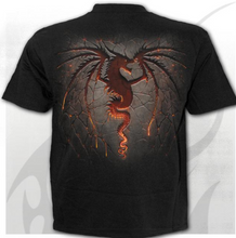 Load image into Gallery viewer, DRAGON FURNACE - T-Shirt Black