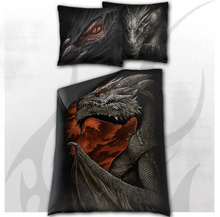 Load image into Gallery viewer, MAJESTIC DRACO - Single Duvet Cover + UK And EU Pillow case