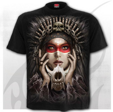 Load image into Gallery viewer, CRY OF THE WOLF - T-Shirt Black