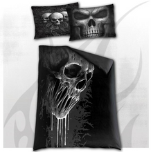 Load image into Gallery viewer, SKULL SCROLL - Single Duvet Cover + UK And EU Pillow case