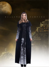 Load image into Gallery viewer, Vampire Costumes Halloween Party Cosplay Queen Dress Gothic Witch Vampire Death Costumes for Women Fancy Dress