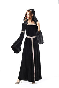 Halloween Cosplay European Court Princess Dress New Witch Role Play Uniform Dress Costume