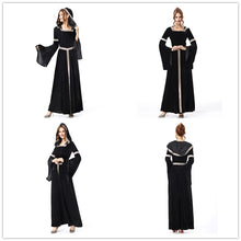 Load image into Gallery viewer, Halloween Carnival Holiday Party Black Witch Costume Witch Costumes for Women Adult Fantasia Dresses LJH-70411