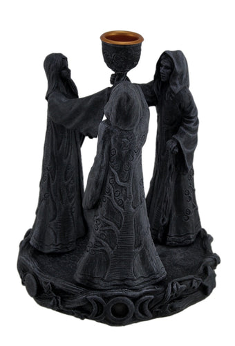 Maiden Mother Crone Cone Incense Burner Pagan Wicca