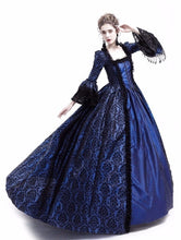 Load image into Gallery viewer, New Fashion 4 Colors Women Long Sleeve Medieval Dress Renaissance Retro Gown Long Dress Casual Female Girl Wizard Cosplay Clothe