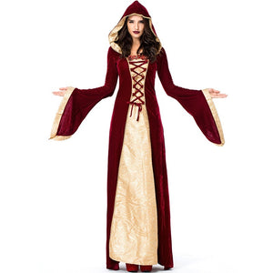 Halloween Dress Witch Halloween Sexy Adult Fancy Party Dress Witch Female Costumes Vampire Costume LJH-81711