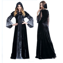 Load image into Gallery viewer, Adult Womens Halloween Witch Costume Cosplay Fancy Dress