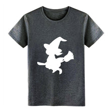 Load image into Gallery viewer, Men's Witch, Witchery, Halloween, Witchcraft, t shirt create cotton O-Neck Unisex Anti-Wrinkle Building Kawaii shirt