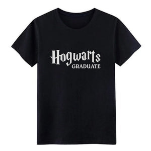 Men's Witchcraft Graduate t shirt Customized cotton Euro Size S-3xl cool Famous Basic summer Normal shirt