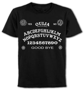 Original  Ouija Board Magic Goth Witchcraft Punk Rock O-Neck Short Sleeve Office Mens Tee