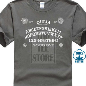 T Shirts Online Men'S Short Original Ouija Board Magic Goth Witchcraft Punk Rock Office Crew Neck Summer Tee Shirt