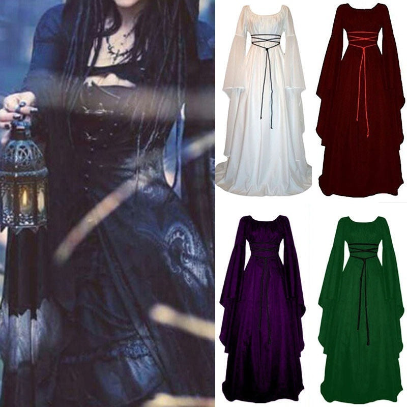 Halloween Costume Cosplay Magic Witch Dress Women Sexy Party Costume