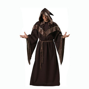 Halloween, adults, cos, witch clothes, demon robes, magician costumes, men and women masquerade, dress up, dress up