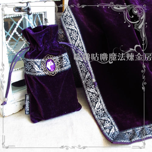New Altar Tarot Tablecloth Table Cloth Velvet Decor Divination Cards Square Wicca Tapestry