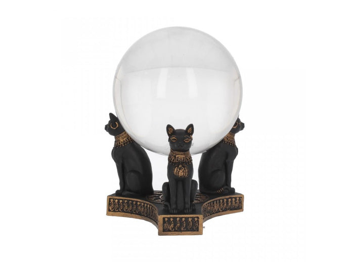 Pre-Order Bastet's Honour Crystal Ball Holder 12.7cm
