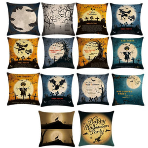 Halloween Witch Moon Series Pillowcase Pillows Case Cover Pillow Home Office Bedroom Home Decorative Pillowcase Dropshipping