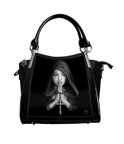 Gothic Prayer Handbag 3D Lenticular