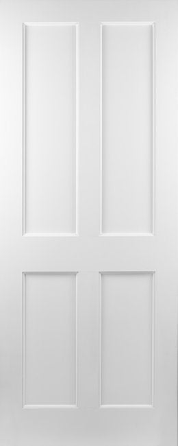 Seadec White Primed Kingscourt 4Panel