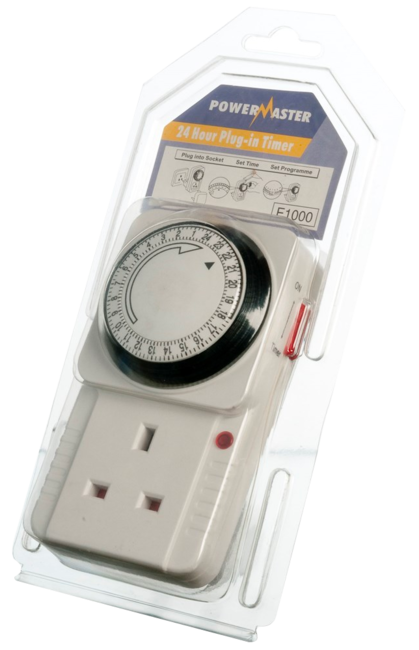 Powermaster 24Hr Plug In Timer