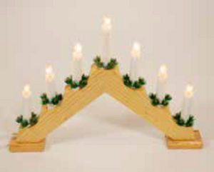 38cm Candle Bridge Pine