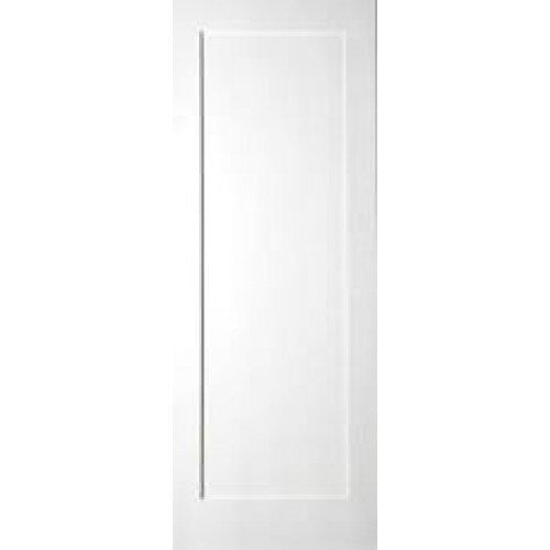 Single Primed Panel White Shaker Door